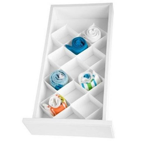 White Drawer Organiser Dividers